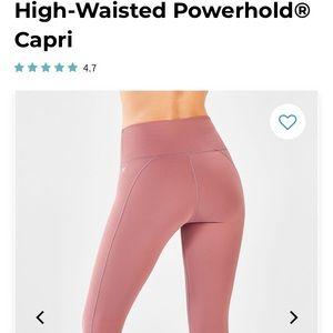 High-Waisted Powerhold® Capri